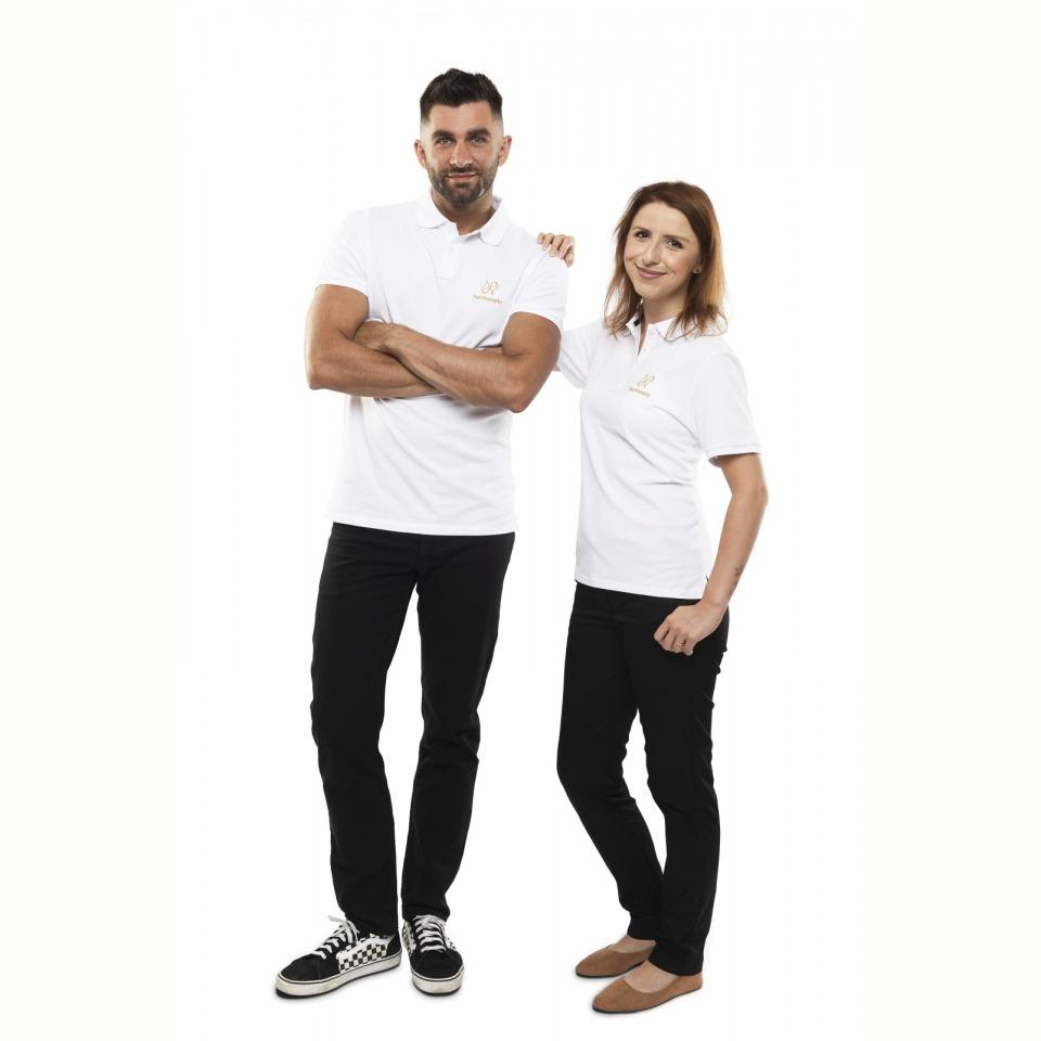 Harmonelo polo T-shirt women M