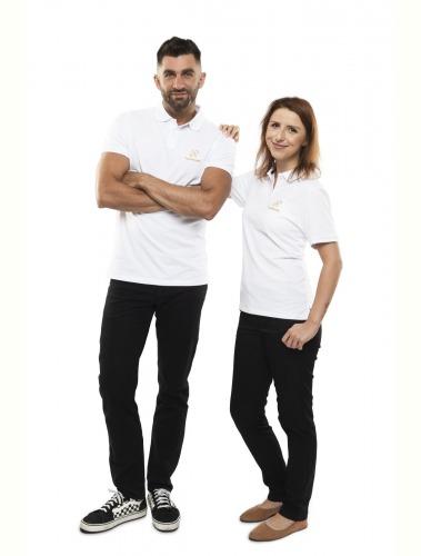 Harmonelo polo T-shirt women S